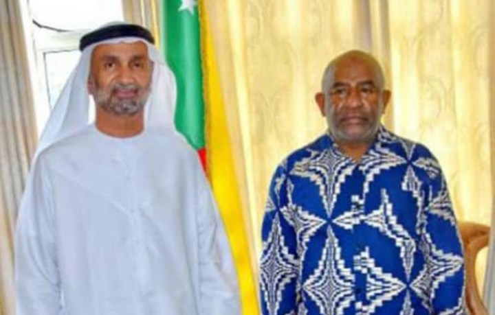 رئيس الدولة يستقبل رئيس المجلس العالمي للتسامح والسلام.