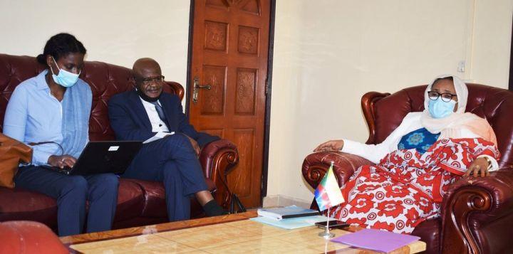 وزيرة الصحة تستقبل مدير البنك الدولي للمجموعة الأفريقيةالثانية