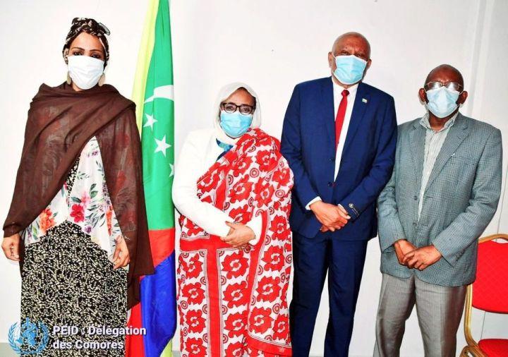 وزيرة الصحة لوب ياقوت: المشاركة في الاجتماع الافتراضي للدول السبع الجزرية الصغيرة(SIDS)