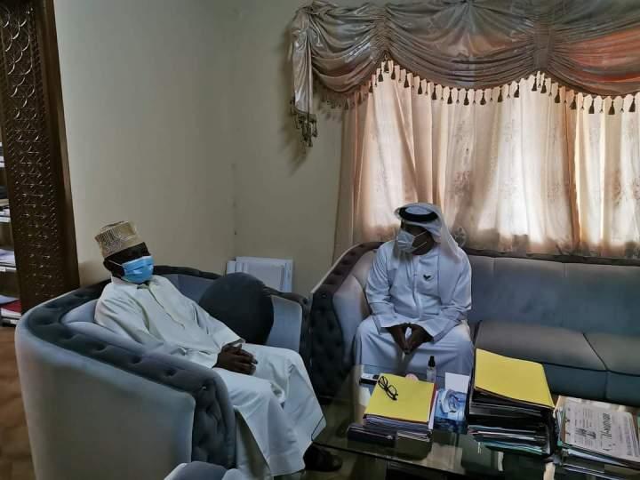 الأمين العام لمجلس الوزراء يستقبل سفير دولة الإمارات العربيةالمتحدة