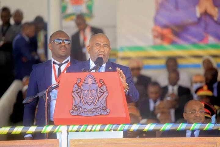 رئيس الدولة يشارك حفل تنصيب الرئيس جون ماقوفولي في دودومابتنزانيا