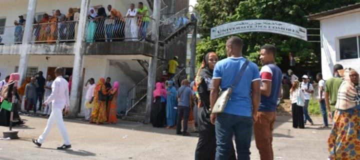 جامعة جزر القمر: الاستعداد لفتح الأبواب أمام 14.000 طالب هذاالعام.