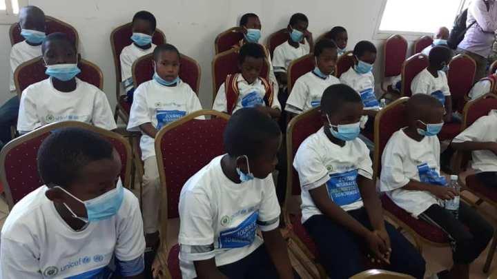 حكومة جزر القمر: احتفال باليوم العالمي لحقوقالطفل.