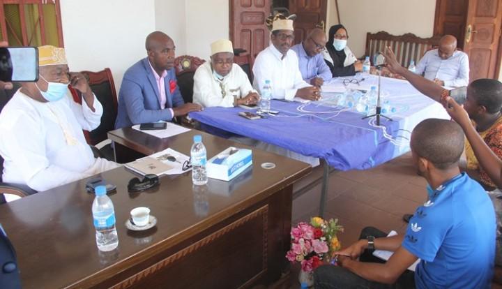حزب  الاتحاد  لتنمية جزر القمر( UPDC ) يعقد المؤتمرالعام