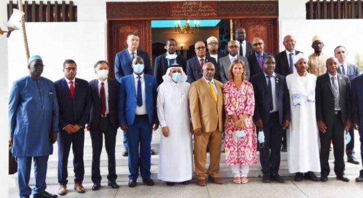 فخامة الرئيس يلتقي بالسلك الدبلوماسي  المعتمدة لدىالدولة