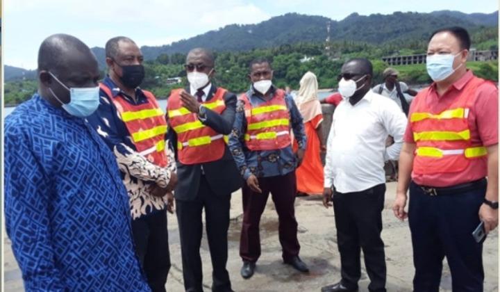 إطلاق أعمال إعادة تأهيل وتوسيع ميناء بوانغوما في جزيرةموهيل