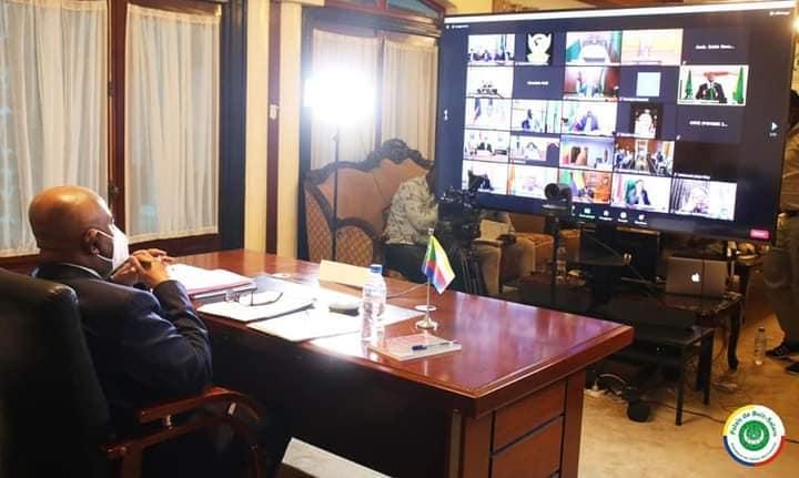 الدورة العادية الرابعة والثلاثون للاتحاد الأفريقي، أصبح الرئيس غزالي عثمان نائباً لرئيس مكتب مؤتمر الاتحادالأفريقي.