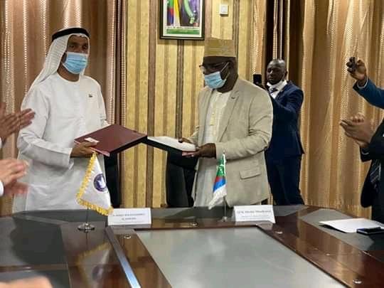 توقيع مذكرة تفاهم بين البرلمان القمري والمجلس العالمي للتسامحوالسلام.