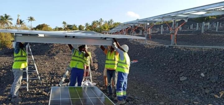 محطة الطاقة الشمسية نوفا ترى النور: مشاريع ثلاثة ميغا شمال جزيرةنجازيجا.