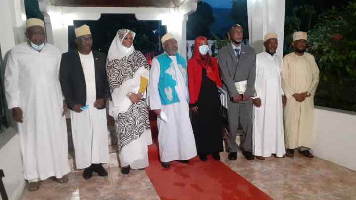 وزيرة خارجية السودان الدكتوراه مريم الصادق المهدي في زيارة رسمية لجزرالقمر